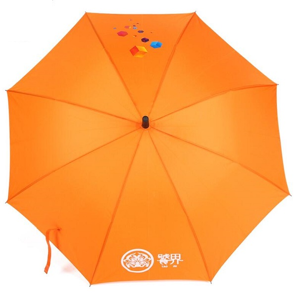 Orange Golf Umbrellas
