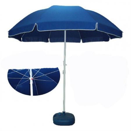 Wind resistant beach umbrellas j h for Wind resistant material