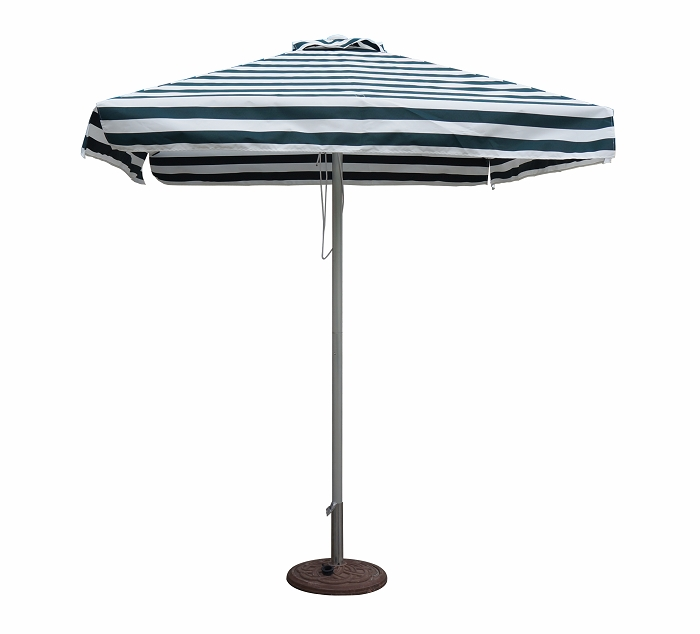 Striped Patio Umbrellas