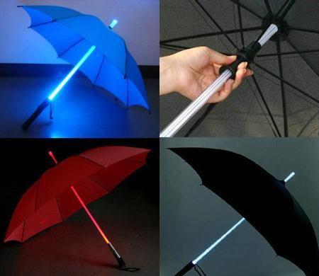 Flash Lighting Umbrellas