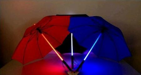 LED Straight Umbrellas