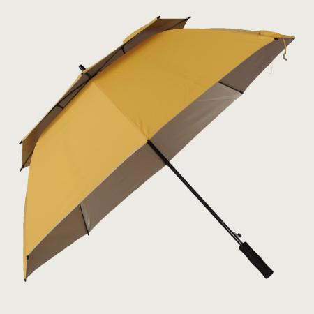 Double Canopy Rain Umbrellas