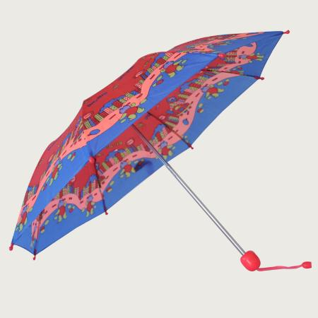 Three Folding Sun Umbrellas