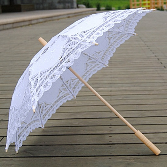 Battenburg Lace Parasols