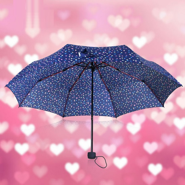 Sweet Heart Compact Umbrellas