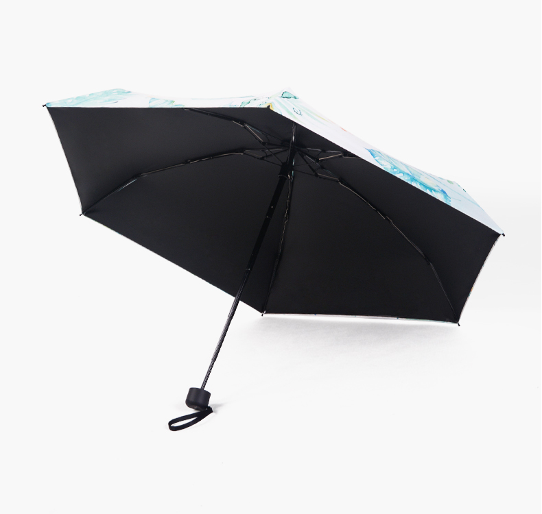 Wholesale 5 fold anti-UV mini umbrella for ladies