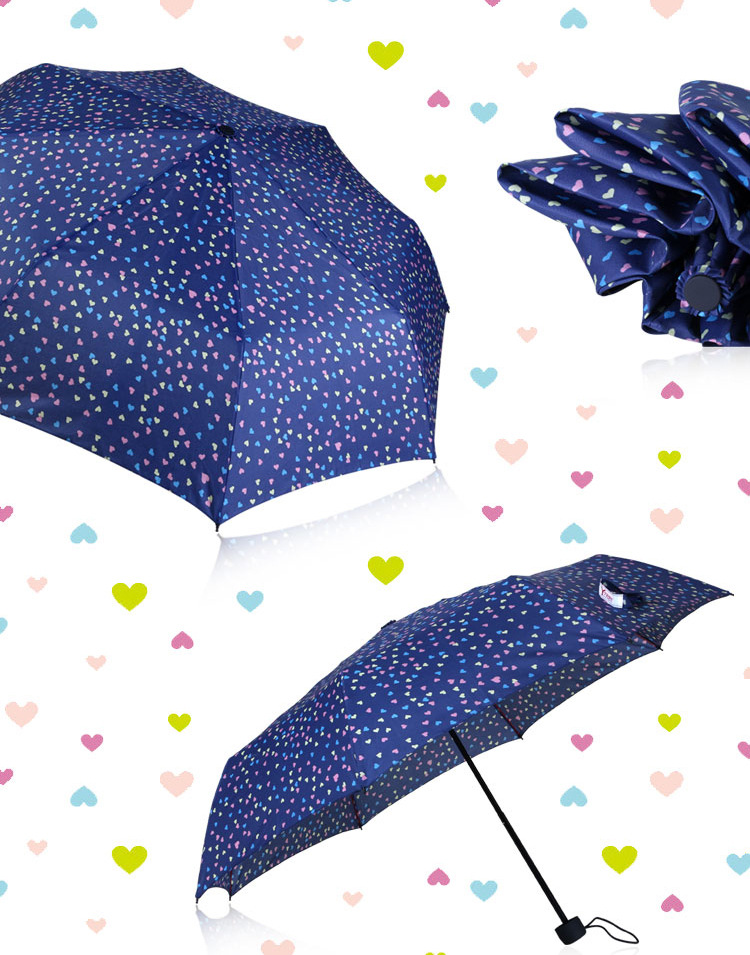 Sweet Heart Compact Umbrellas I