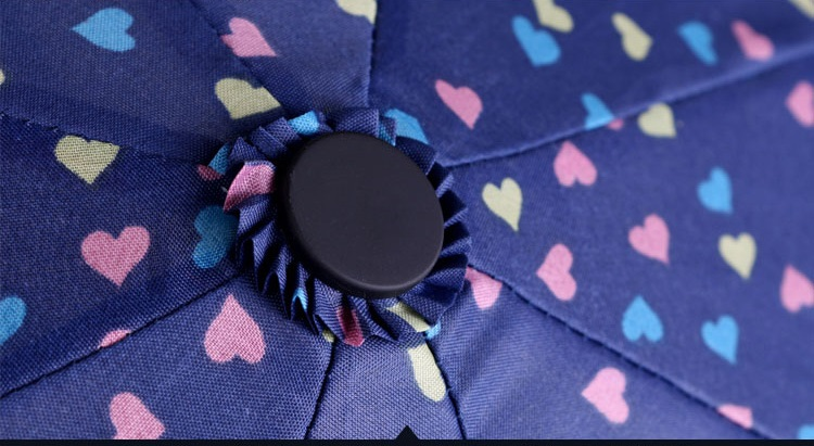 Sweet Heart Compact Umbrellas II