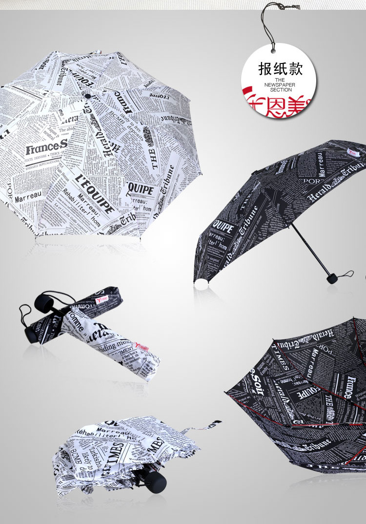 Sweet Heart Compact Umbrellas V