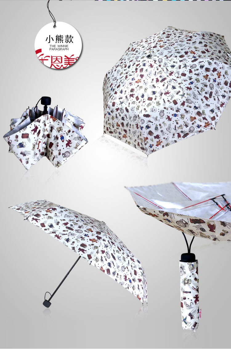 Sweet Heart Compact Umbrellas VII